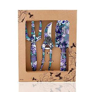 FLORA GUARD outils de jardinage -3 pièces Outils de jardinage K768, violet