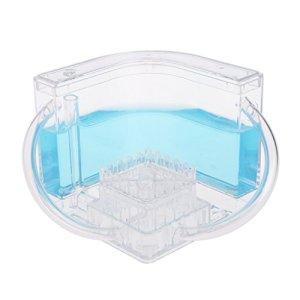 haohao3 fourmilière, 3D fourmilière éducatif Labyrinthe système d'alimentation en Direct Fourmis Habitat Monde Animal de Compagnie Villa Bleu