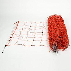 horizont Filet à moutons │ point unique │ hauteur 90cm – longueur 50m │ clôture à moutons, clôture de pâturage, clôture électrique │ parfait pour la protection de vos moutons