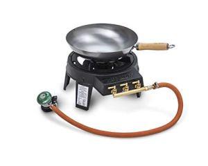 Hot Wok HW3711Original Set de Wok avec régulateur de pression/flexible