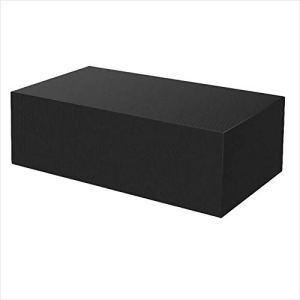 Housses de meubles pour le stockage 210x110x70cm, housses de meubles de jardin, housses de meubles de patio, imperméables et résistants durables, anti-décoloration, pour table et chaises d'extérieur