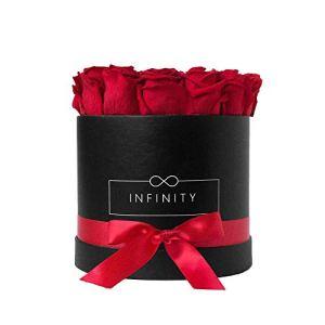 Infinity Flowerbox 3-BB-VR cadeau, Rouge Vibrant