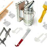 Kit de 10 outils d'apiculture Accessoires d'apiculture: enfumoir pour ruche d'abeille, etc.