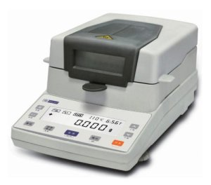 Mxbaoheng infrarouge halogène l'humidité Mètre Analyseur de produits chimiques l'humidité 110g/5mg 220V