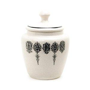 MXJ61 Pots à Tabac Pipe à Tabac Pots à Crème Céramique Crack White Crack ( Couleur : B )