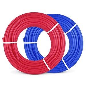 Olibelle Pex Tubing 1/2 pouces 100 /300/2*300/1000ft Pex Tuyau Non Oxygène Portable Water Pex Tubing (2*300ft)