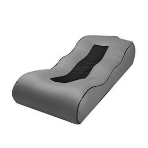 Qinghengyong Gonflable Sac Air Transat Lit Lazy lit lit Couch Chaise Portable Outdoor Plage Lit Pliant étanche gris1