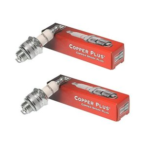 Small Engine Spark Plug for Lawn Equipment, (2 Pack) Champion CJ8 (843)