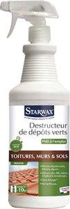 STARWAX Destructeur de Dépôts Verts Prêt à l'Emploi 1 L