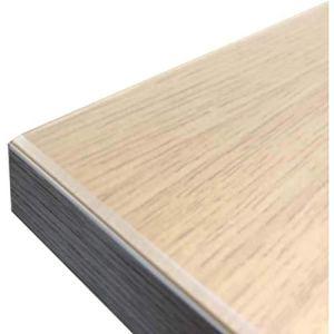 SUNZ Nappe Transparente en PVC éCologique Protection De Table (éPaisseur 3Mm) (Personnalisable) ImperméAble RéSistant à l'huile AntidéRapant Aux Rayures Facile d'entretien(500X170cm)