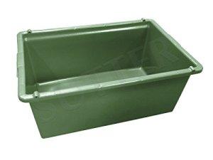 wildwanne dans le coffre de transport/Coffre de transport pour les Wild/80L/76x 50x 32cm/Qualité Alimentaire