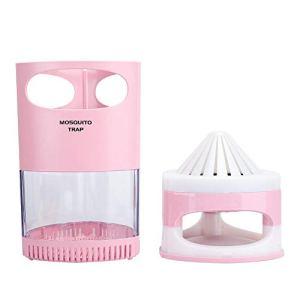 Witekey Anti-Moustique de Non-rayonnement, Bureau de Protection de l'environnement de lumière Pourpre de Tueur de Moustique(Pink)