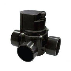 XCLEAR automatique 3voies Roue Robinet 63mm Noir 21 x 21 x 16 cm Noir