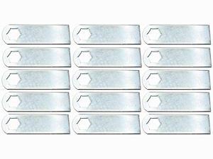 15x Lames de scarificateur adapté pour Gutbrod V34 Scarificateur