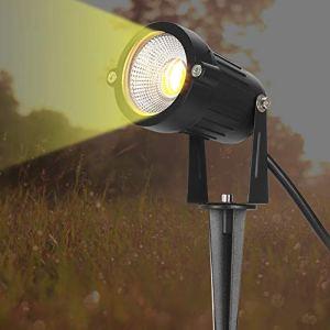 5W COB projecteurs lampe d'éclairage chaud extérieur 360 ° Rotation jardin LED lumière IP65(European regulations)