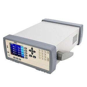 AT4108-200 ℃ -1300 ℃ affichage d'écran Port USB thermomètre à 8 canaux testeur de température pour appareils ménagers électriques(EU PLUG(220V))