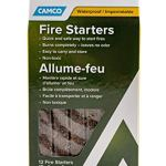 Camco 51017Fire Starter Stick–Lot DE 12