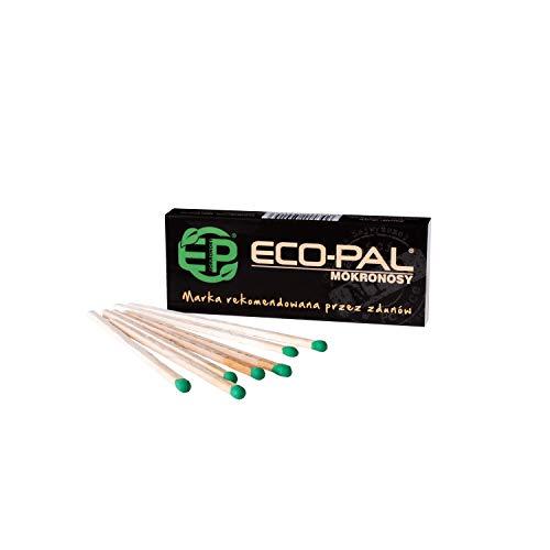 ECO-PAL Lot de 15 allumettes longues pour cheminée, barbecue, cheminée, cheminée dans un emballage en carton pratique