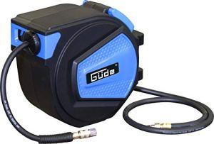 Güde 02882 Enrouleur de tuyau automatique 15 m Pression de travail max. 12 bar Diamètre intérieur 9,5 mm Épaisseur paroi 3 mm