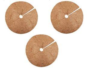JYCRA Lot de 3 anneaux en fibre de coco naturelle en fibre de coco 30 cm