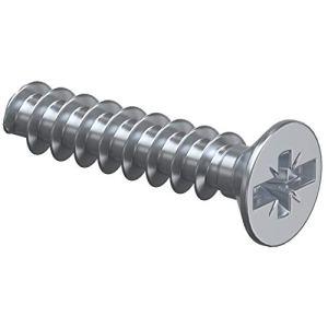 KAISER 2472-15 Lot de 100 vis à filetage Plus/Minus 3,2 x 15 mm