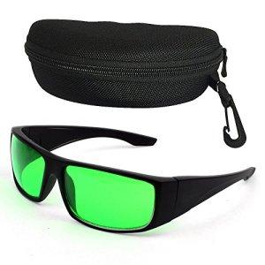 LED Plantes Verres Lunettes de Protection Eyes Grow Glasses Anti UV/IR