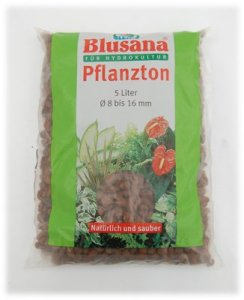 Leni P 6530 Blusana Argile Substrat pour Hydroponie 8/16 Grain 5L