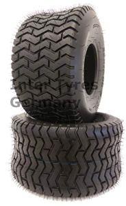 Lot de 2 pneus Gripstar 18 x 9,50-8 LG02 – Pour tondeuse à gazon – 18 x 9,5-8