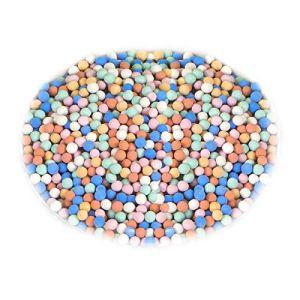 LQKYWNA Granules d'argile 500g Fond De Cailloux d'argile Multicolore Filtres De Plantation Hydroponique Milieux De Croissance pour Fleurs De Plantes D'aquaculture