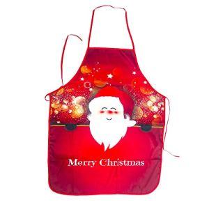 Lushi Tablier de Père Noël Fête de Noël Cuisine, Dîner, Cuisine, Barbecue, Restaurant, Décoration de la Maison