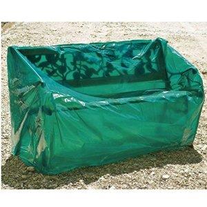 Maillessac 04764 Housse pour Banc de Jardin Vert 150 cm