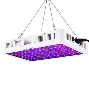 Niello Lampe de Culture 600w, La série de lentilles optiques LED élève la lumière, la lumière des Plantes à Spectre Complet avec UV IR pour Les Plantes d'intérieur Veg et Bloom