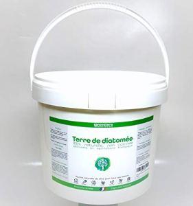 NOVATERA Terre de Diatomée 100% Naturelle – 2,5 kg – Garantie Origine France – Ultrapure – Formats 0,3 à 12 kg – Protection écologique – ECOCERT Utilisable Agriculture Biologique