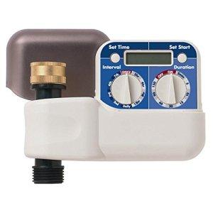 Orbit Ht7testeur 2-dial Digital Tuyau d'arrosage Robinet Minuteur, contrôleur d'eau Automatique Blanc