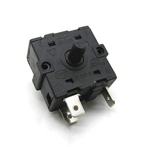 QINGRUI Outils d'accessoires 1pc commutateur Rotatif 16A 250V AC for Chauffage électrique radiateur réparation Pièces Accessoires Performance Stable