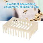 Queen Cage, outil d'apiculture d'équipement d'apiculture non toxique durable 20Pcs, outil d'apiculteur extérieur en plastique pour protéger la reine des abeilles pour les apiculteurs à la