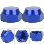 Redxiao~ Capuchon d'écrou d'alliage d'aluminium de Couleur(Blue, Right Hand)