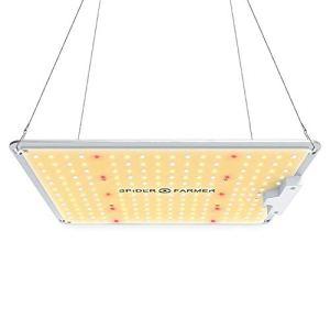 Spider Farmer Lampe de culture IR pour plantes d'intérieur avec puces Samsung spectre complet 3000K 5000K 660nm