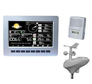 Station météorologique multifonctionnelle, Instrument météorologique de Haute précision de Grande mémoire à énergie Solaire sans Fil Professionnel