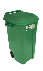 Tayg 424007 Conteneur à déchets EcoTayg 120LVE, Vert