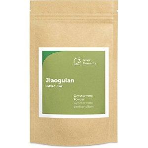 Terra Elements Jiaogulan en poudre 100 g I Herbe de l'Immortalité I 100% pure I vegan