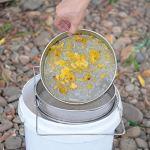 Wincal Honey Strainer-2Pcs Tamis à Double Couche en Acier Inoxydable résistant à la Corrosion de Haute qualité Filtre à Miel Filtre à Miel pour Apiculture