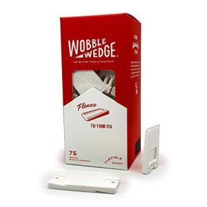 Wobble Wedge Cales d'installation pour les toilettes 75 pièces