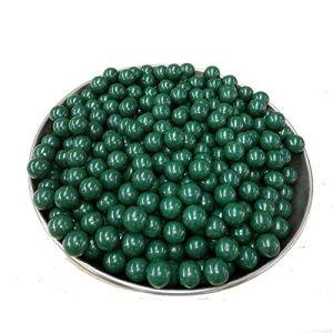 Yuen Granulés d'argile d'argile/Boules d'argile de sécurité/granulés d'argile de sécurité d'extérieur Super durs/Pack même Lisse de 5 kg(9mm-10mm, Green)