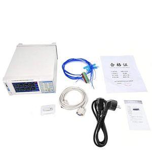 Zouminy Enregistreur de température, thermomètre enregistreur multivoie IV-380 pour enregistreur de température 8 Prises UE 220V