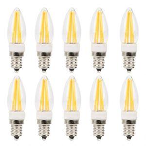 【𝐕𝐞𝐧𝐝𝐫𝐞𝐝𝐢 𝐍𝐨𝐢𝐫】 Ampoule LED à Long Filament à économie d'énergie Mini ampoule LED 3W AC230V lampe à intensité variable pour éclairage d'armoire d'ampoules de paysage de voiture
