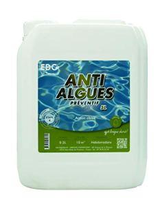 Anti Algues Piscine – Bidon 5 Litres – PREVENTIF EDG BY AQUALUX