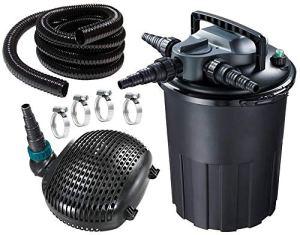 AquaForte CBF-8000 Filtre Noir