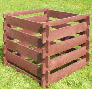 ARNDT steckkomposter composteur en recyclingkunststoff aux intempéries Contenu : 650 l