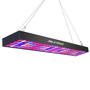 ASUNDOM Lampe de Croissance 80W avec Spectre Complet UV et LED Infrarouge pour Plantes Hydroponiques, Semis, Germination et Flower